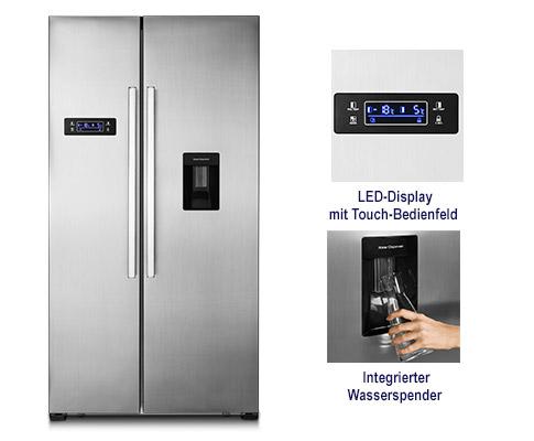 Side By Side Kühlschrank Hofer : Hofer kuehlschrank juni 2018 medion® md 37250