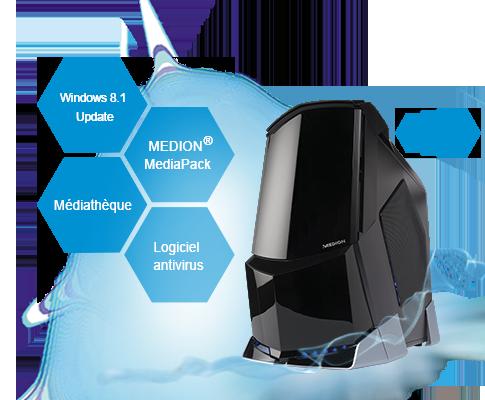 Medion erazer x5340 d md 8886 - Office 365 version d essai ...