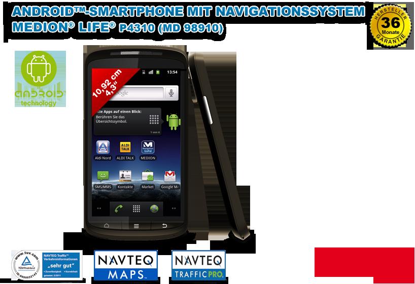 MEDION® LIFE® Smartphone P4310 (MD 98910)